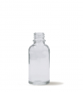 Botella 30 ml - cristal transparente