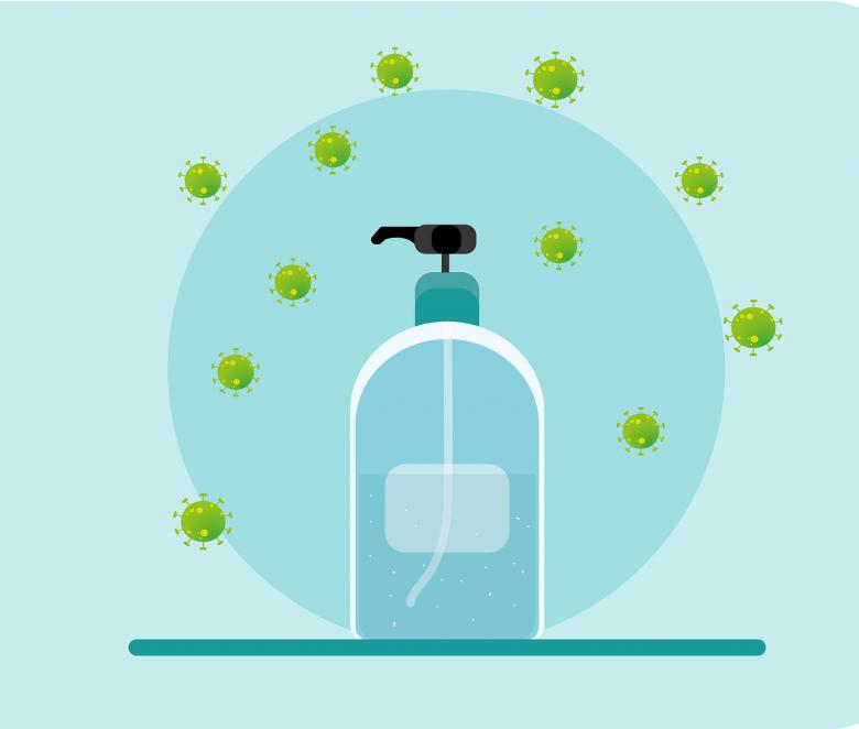 Desinfeccion y protección con aceites esenciales
