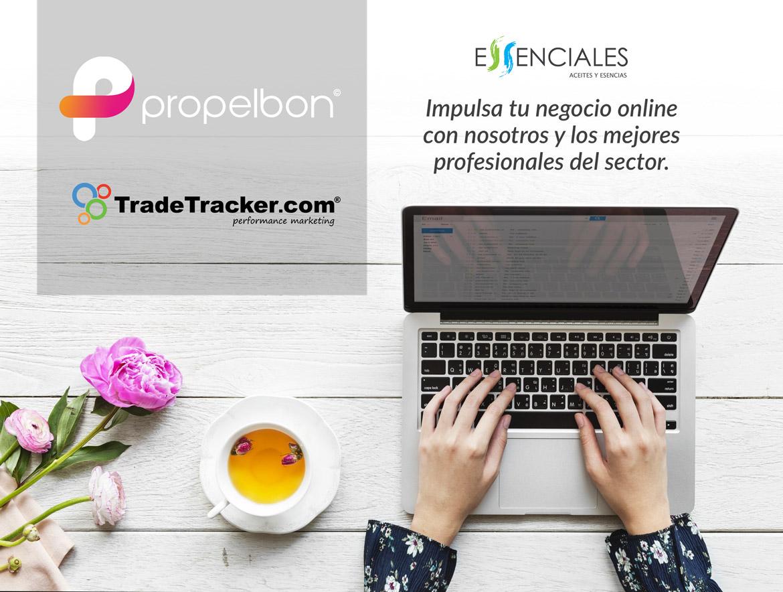 Programa de afiliación de Essenciales con TradeTracker